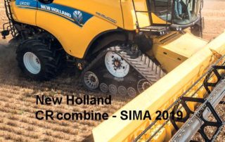 Quelle: New Holland Dynamic Feed Roll Reverser on the CR combine CR 10 - Sima 2019 - Manfred Lorenzen, Lorenzen LMV-Jobbörse - Soest