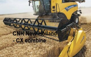 Quelle: CNH New Holland - CX combine harvester - Agritechnica 2019, Manfred Lorenzen