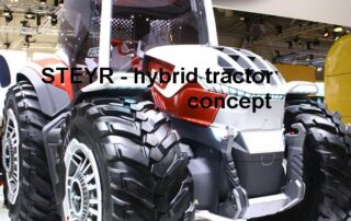 Photo source: CNH Industrial-STEYR - farming technology - a hybrid powered concept tractor – agritechnaca 2019 - Lorenzen LMV-Jobbörse - Soest