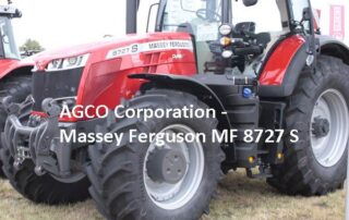 M. Lorenzen, AGCO Massey Ferguson - MF8727 S Agro Power - 300 PS