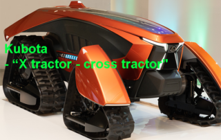 "Kubota Corporation, ""X tractor - cross tractor"" - M. Lorenzen"