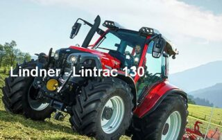 "Lindner - Lintrac 130 - ""Machine of the Year 2020"" - Manfred Lorenzen"