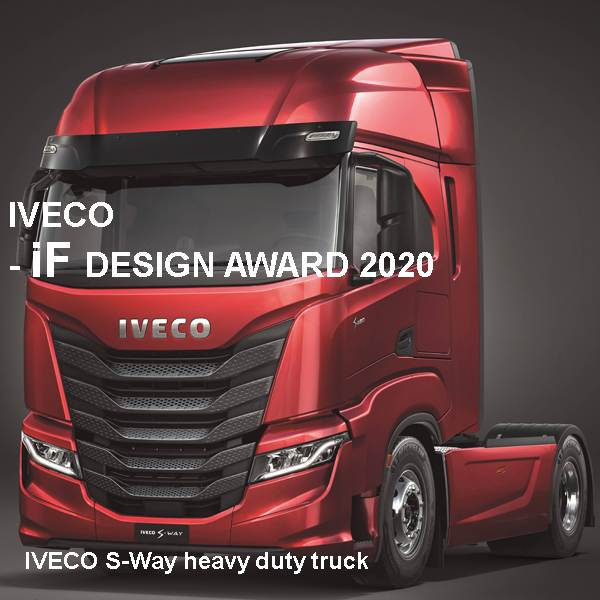 CNH Industrial N.V. - IVECO S-Way heavy duty truck - Manfred Lorenzen